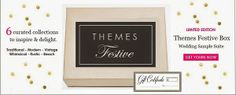 Themes Festive: Curated Theme-Based Wedding Products + Gift Certificate #curated #wedding #products #gift #certificate