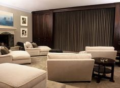 Home Theatres and Media Rooms on Pinterest