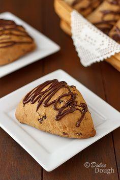 Cinnamon Chocolate Chip Scones