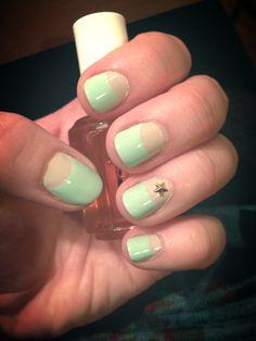 Spring/Summer 2014 nail inspo by fidget76 from #TheBeautyBoard. #SephoraNailspotting #Sephora #nails #nailpolish