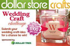 Dollar Store Wedding Crafts-