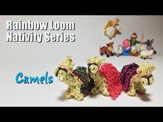 Rainbow Loom Nativity Series: Camels by PG Loomacy. - YouTube