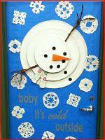 Winter Idea for Classroom Door or Bulletin Board