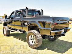 Love the coal stacks and lift on this F250