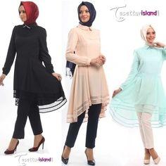 BAYRAM FIRSATI! PUANE YENI SEZON TUNIK 119TL YERINE 99TL. SIPARIS VERMEK İÇİN SAYFAMİZİ ZİYARET EDIN www.tesetturisland.com. Ürün kodu : 8207 #tunik #tesettürmoda #tesetturisland #hijab #tesetturmarka