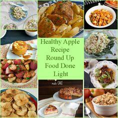 Healthy Apple Recipe Round Up