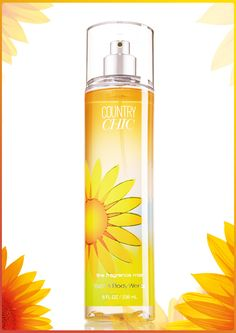 A breath of fresh air in just 1 mist of refreshing fragrance! #CountryChic