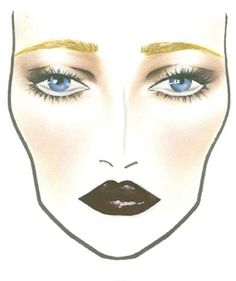 Mac makeup chart: The Great Gatsby