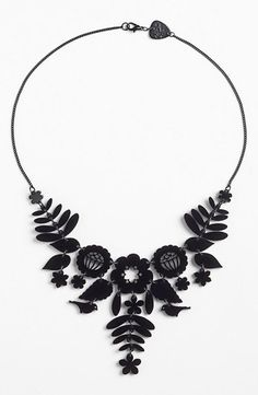 So into this embroidery-style statement necklace!