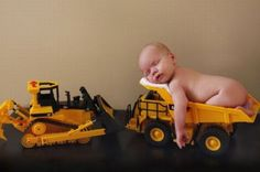 Babies do not belong in dump trucks.