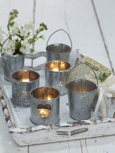 Cute miniature candle holders http://www.myweddingconcierge.com.au #weddingdecorations #weddingdecor #weddings