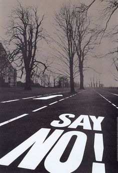 'Just Say No' National Trust campaign 1976- David Gentleman