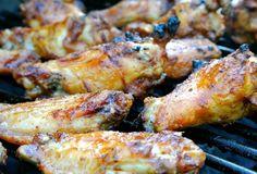 chicken wing, grill chicken, grilled chicken