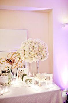 Wedding Decor (guest book table)