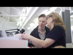 Behind the scenes video of the creation of the Cumberbatch wax figure wherein he is 100% adorkable.