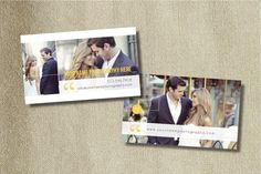 Image of NEW YORKER BUSINESS CARD TEMPLATE