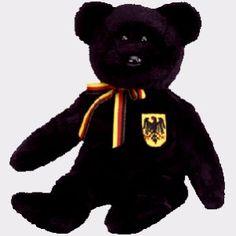 Freiherr von Schwartz the bear (German Exclusive), Beanie Baby
