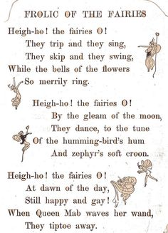 Frolic of the fairies poem by katinthecupboard, via Flickr