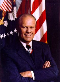 President #38  Gerald R Ford in office 1974-1977