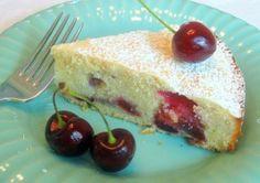 Jane's Sweets & Baking Journal: Fresh Sweet-Cherry Coffee Cake . . . Yum . . .
