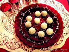 White Chocolate Peppermint Truffles