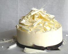 white chocolate curls ~ Callebaut White Chocolate
