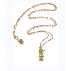 Gold Kingfisher Necklace | Mirabelle