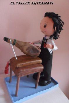 Fofucho cortando jamón : El taller Artramapi