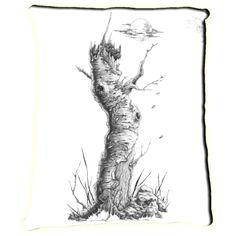 """""""Birch"""" Blais Bellenoit Meditation Pillow"""