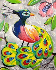 Paint Along Subjects - Shiny Happy Art