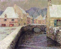 Henri Le Sidaner - Snow,1915
