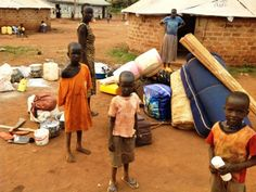 South Sudanese refugees arrival at Kiryandongo settlement camp 16, 02,2014 (ST)
