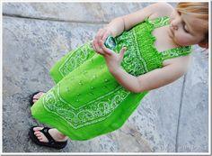 diy bandana dress