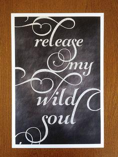 Release my wild soul❤️