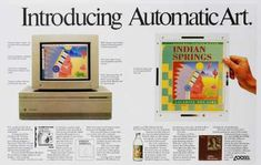 Look familiar? Of course it does. But it's also an Adobe ad. (1980s)