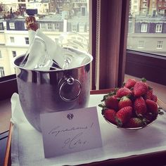 Strawberries and Champagne anyone?