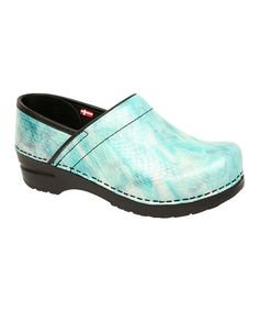 Take a look at this Mint Sonora Professional Clog - Women by Sanita on #zulily today!