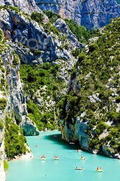 Beautiful Lakes - St. Croix Lake, France