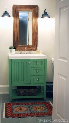 Painted Bathroom Vanity [ HGNJShoppingMall.com ] #bathroom #shop #deals