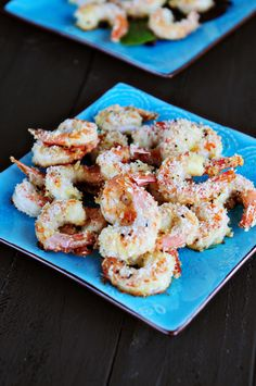 Oven Baked Panko Crusted Shrim! Can't WAIT to make this! via @DineandDish