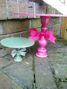 cupcake/ smash cake stand i can make this!