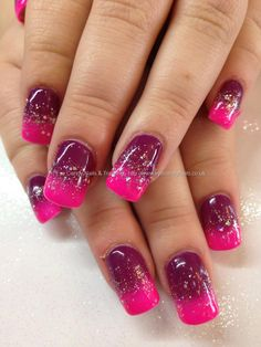 Gel 8 and 50 gel p;olish fade with glitter 18