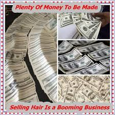 how to start selling hair