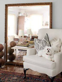 Obsessed w/ mirror design! Especially the giant ones!