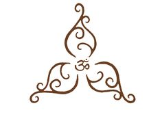 ohm design for tattoo - like this for a temp one