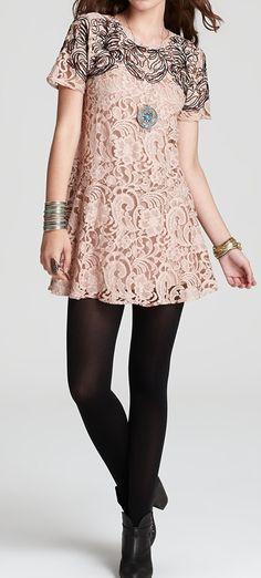 Dream lace dress