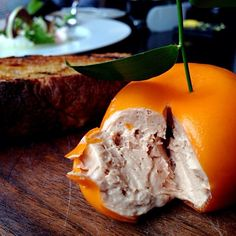 Meatfruit at Dinner by Heston. | 17 Delicious Dishes Every Londoner Should Try