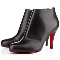 All You Need is Love And Christian Louboutin Belle 80mm Ankle Boots Black CUW!
