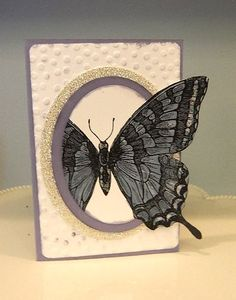 Out of the Box Technique, Swallowtail Stamp, Stampin' UP!, card making