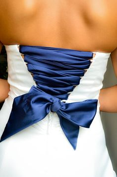 My wedding dress!! Added some color to match my hubby's tux :) wedding dressses, bridesmaids, blue wedding tux, bridesmaid dresses, the dress, wedding colors, something blue, blues
